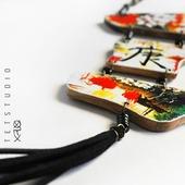 Колье Сакура в японском стиле
