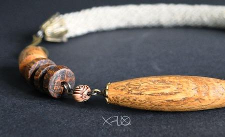 Колье и браслет трансформер (натуральное украшение) ручной работы на заказ