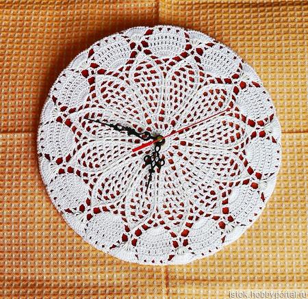 Часы интерьерные настенные ручной работы на заказ