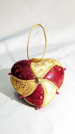 Сердечко (валентинка) интерьерное ручной работы на заказ