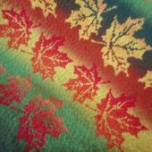 Шаль Кленовые листья