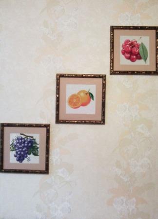 """Алмазная картина """"Апельсин"""" ручной работы на заказ"""
