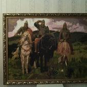 "Алмазная картина ""Три богатыря"""