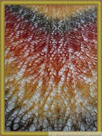 Шаль Византия ручной работы на заказ
