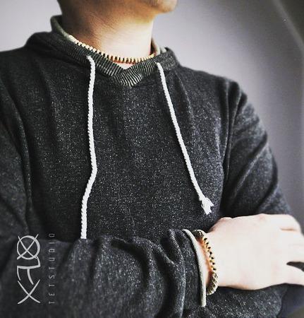 Бохо-браслет (унисекс) ручной работы на заказ