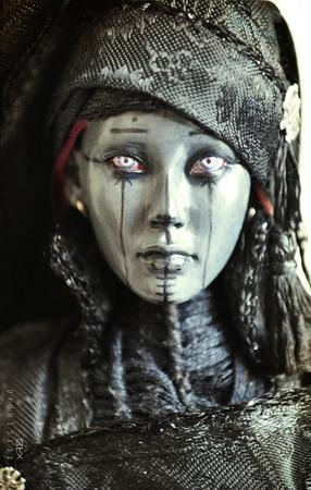 """""""Ведьма"""" эксклюзивная коллекционная кукла ручной работы. ручной работы на заказ"""