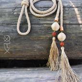 фото: Аксессуары (деревянные бусины)