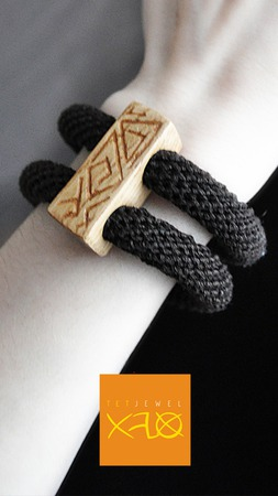 Бохо - браслет Этническая Геометрия ручной работы на заказ