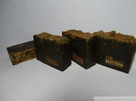 Кофейное мыло-скраб с мумие ручной работы на заказ