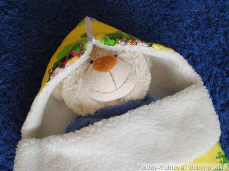 Конверт для новорожденного Пчёлки ручной работы на заказ