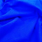 Ткань костюмная васильковая