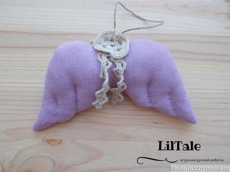 Текстильные елочные игрушки ручной работы на заказ