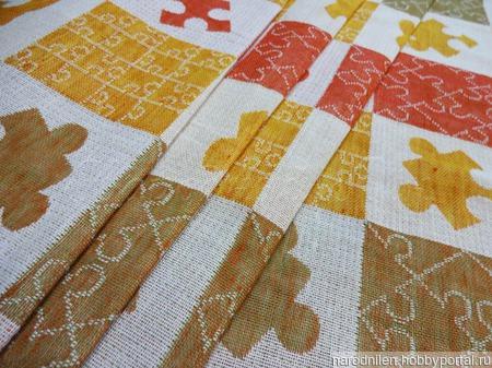 Ткань декоративная для пледов и одеял ручной работы на заказ
