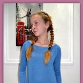 Мастер-класс по вязанию платья-туники на вязальной машине