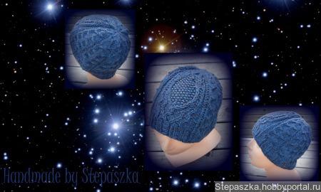 """Описание шапочки """"A Stellar Nursery"""" (""""Звёздная колыбель"""") ручной работы на заказ"""