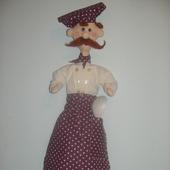 """Кукла-пакетница """"Повар Ганс"""""""