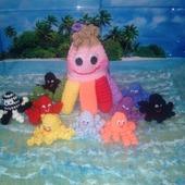 Развивающая игрушка Радужный Осьминог