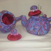 Текстильный чайник - функциональное украшение интерьера кухни