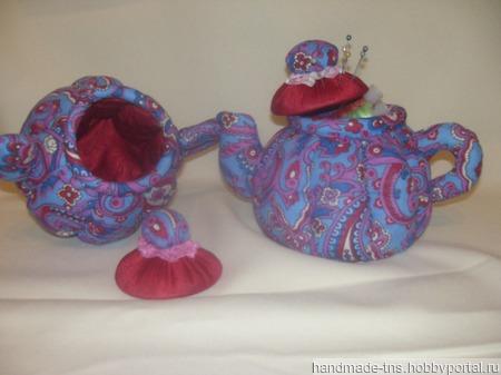 Текстильный чайник - функциональное украшение интерьера кухни ручной работы на заказ