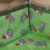 Комплект в кроватку мишки Тедди