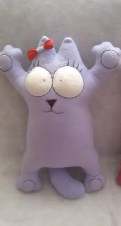 Кот Саймона 50 см ручной работы на заказ