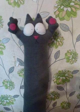 Кот Саймона 100 см ручной работы на заказ