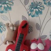 Подушка-игрушка гитара