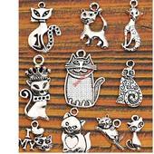 фото: Материалы для творчества для украшений (подвеска котики)