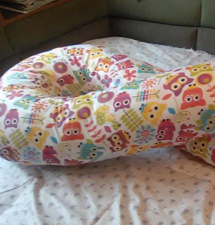 Подушка для беременных на все тело ручной работы на заказ