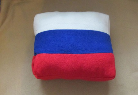 Подушка флаг ручной работы на заказ