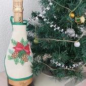 Фартук для бутылки