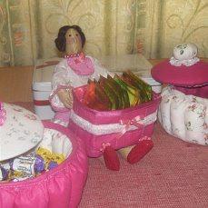 """Кукла-тильда """"Чайная дама"""" ручной работы на заказ"""