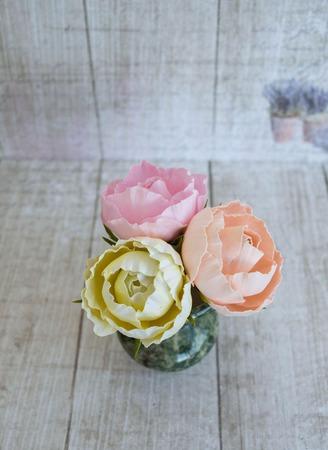 """Мастер-классы """"Миниатюрные розы из фоамирана"""" ручной работы на заказ"""