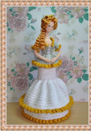 Мастер-класс вязаная кукла крючком в стиле Тряпиенсы ручной работы на заказ