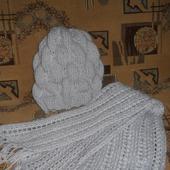 Комплект (шапка + шарфик)