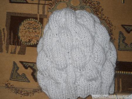 Комплект (шапка + шарфик) ручной работы на заказ