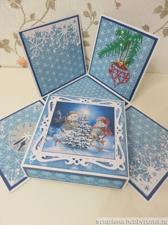Новогодний Magic Box ручной работы на заказ