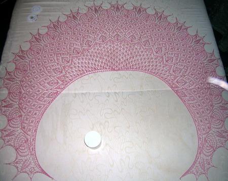 Ажурная шаль из натурального шелка мальберри ручной работы на заказ