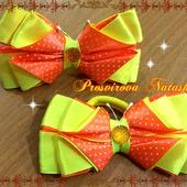 Бантики - бабочки для девочки