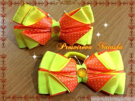 Бантики - бабочки для девочки ручной работы на заказ