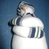 Снеговичок-мерзлячок