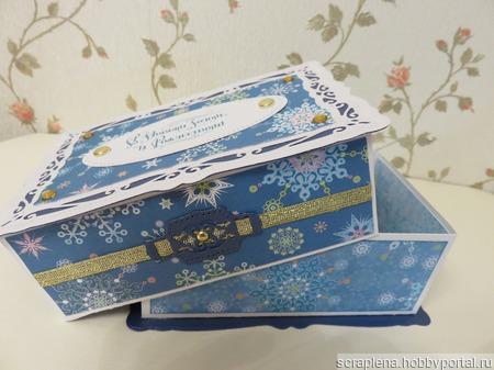 Коробочка для подарка ручной работы на заказ