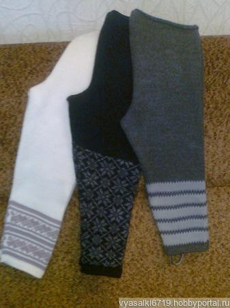 Гамаши, брючки и штанишки ручной работы на заказ