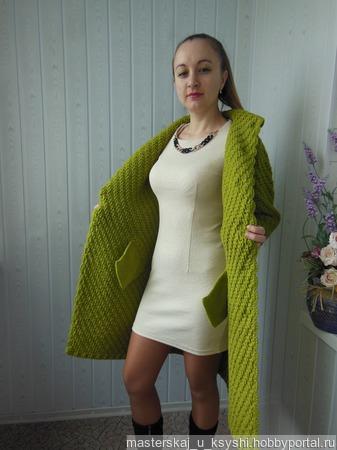 Весеннее пальто ручной работы на заказ
