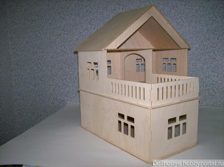 Кукольный домик ручной работы на заказ