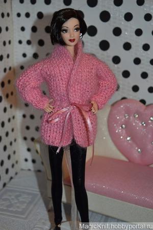 Кардиган для Барби ручной работы на заказ