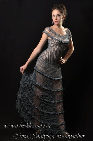 """Платье """"Мануэла"""" от Alzira Vieira ручной работы на заказ"""