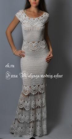 """Платье """"Катарина"""" ручной работы на заказ"""