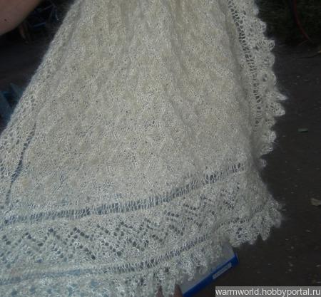 Шаль-платок ручной работы на заказ