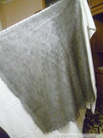 Ажурный платок ручной работы ручной работы на заказ